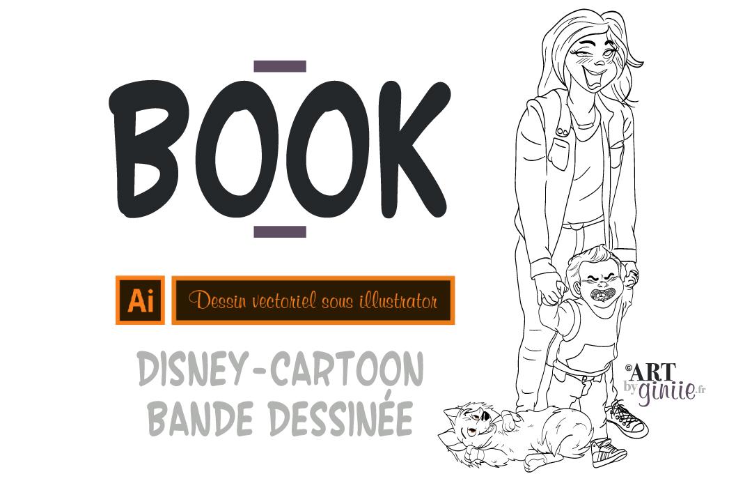 Pour les curieux ou les fans de l'univers Disney-cartoon, vous trouverez ici mes illustrations personnelles